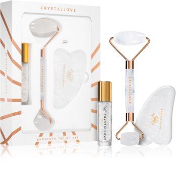 Crystallove Quartz Beauty Set Clear set pentru îngrijirea pielii