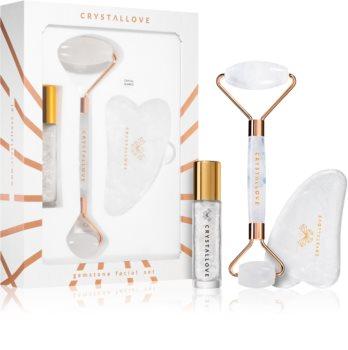 Crystallove Quartz Beauty Set Clear set za njegu lica