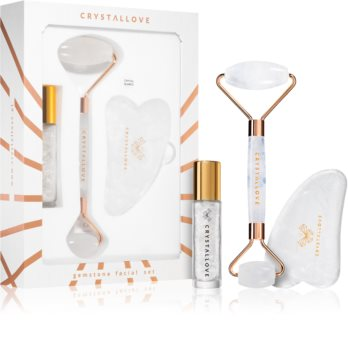 Crystallove Quartz Beauty Set Clear zestaw do pielęgnacji skóry