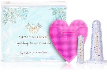 Crystallove Crystalcup kozmetika szett (az arcra)