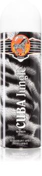 Cuba Jungle Zebra Deodorant für Damen
