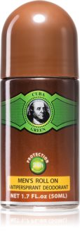Cuba Green déodorant roll-on pour homme