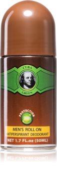 Cuba Green Deodorant roller voor Mannen