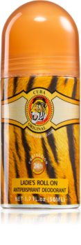 Cuba Jungle Tiger roll-on dezodorans antiperspirant za žene