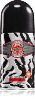 Cuba Jungle Zebra guľôčkový deodorant antiperspirant pre ženy