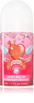 Cuba Heartbreaker Deodorant roll-on pentru femei