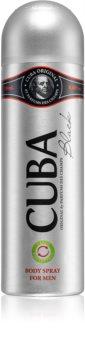 Cuba Black deodorant ve spreji pro muže