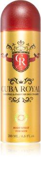 Cuba Royal déodorant en spray pour homme