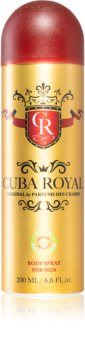 Cuba Royal Deodorant Spray  voor Mannen