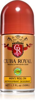 Cuba Royal Roll-on Deodorantti Miehille