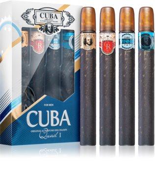 Cuba Quad For Men darčeková sada I. pre mužov