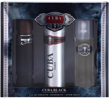 Cuba Black lote de regalo II. para hombre