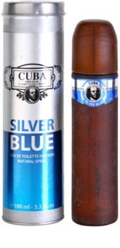 Cuba Silver Blue eau de toilette para hombre 100 ml
