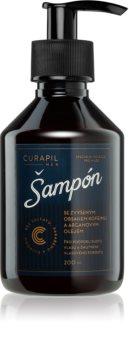Curapil Men šampon s kofeinom za moške za pospeševanje rasti las