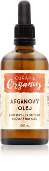 Curapil Organics óleo de argão para corpo e cabelo