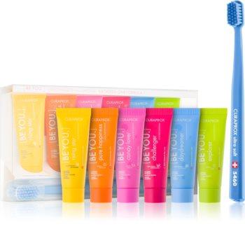 Curaprox Be You Express Yourself kit med tandvård I.