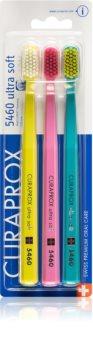 Curaprox 5460 Ultra Soft зубні щітки  ultra soft 3 шт