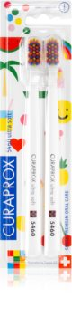 Curaprox Limited Edition Pop Art Watermelon Ultra Soft Toothbrushes, 2pcs