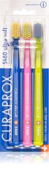 Curaprox 5460 Ultra Soft zobne ščetke ultra soft 3 kos