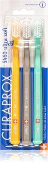 Curaprox 5460 Ultra Soft Ultrabløde tandbørster 3 stk