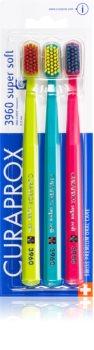 Curaprox 3960 Super Soft Super Soft Toothbrush 3 pcs