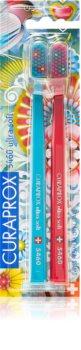 Curaprox Limited Edition Catalia Estrada зубні щітки  ultra soft лімітоване видання