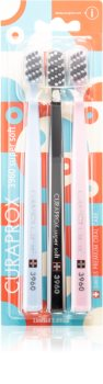 Curaprox Limited Edition Art Deco Super Soft Toothbrush 3 pcs