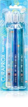 Curaprox Limited Edition Jellyfish Periuțe de dinți ultra soft 3 pc