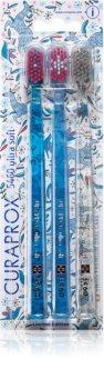 Curaprox Limited Edition Glitter Periuțe de dinți ultra soft 3 pc