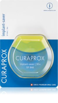Curaprox Implant-Saver DF 846 Dental Floss on Braces and Implants