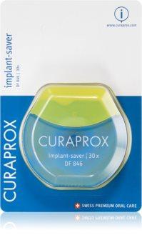 Curaprox Implant-Saver DF 846 filo interdentale per apparecchi ortodontici e protesi