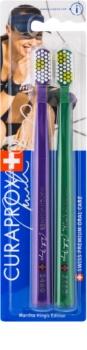 Curaprox Limited Edition Martina Hingis Toothbrushes, 2 pcs