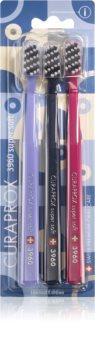 Curaprox Limited Edition Art Deco brosse à dents super soft 3 pcs