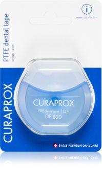 Curaprox PTFE Dental Tape DF 820 banda dentara cu suprafata de teflon