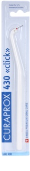 Curaprox Click UHS 430 επαγγελματικός πλαστικός συγκρατητήρας για μεσοδόντιες βούρτσες