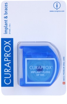 Curaprox DF 845 Dental Floss on Braces and Implants