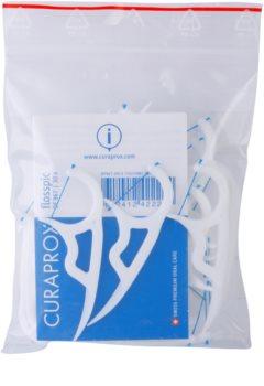 Curaprox Flosspic DF 967 конец за зъби и клечка за зъби в едно