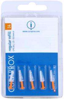 Curaprox Regular Refill CPS blister de brossettes interdentaires coniques de rechange 5 pcs