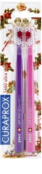 Curaprox 5460 Ultra Soft With Love escovas de dentes 2 unidades