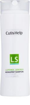 CutisHelp Health Care L.S - Lupénka - Seborea konopný šampon proti lupénce a seboroické dermatitidě