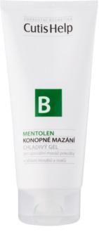 CutisHelp Health Care B - Mentolen konopný chladivý gel s mentolem na svaly a klouby