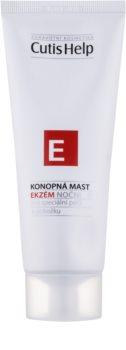 CutisHelp Health Care E - Eczema noćna mast od konoplje za ekceme za lice i tijelo