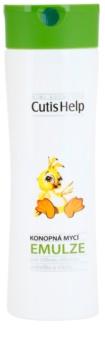 CutisHelp Mimi emulzija za kupanje s konopljom za djecu od rođenja