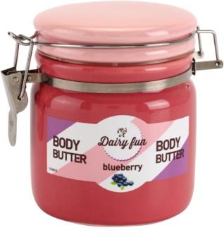 Dairy Fun Blueberry manteiga corporal
