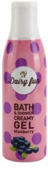 Dairy Fun Blueberry kremowy żel pod prysznic i do kąpieli