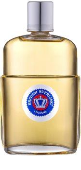 Dana British Sterling Eau de Cologne para homens 168 ml