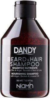 DANDY Beard & Hair Shampoo Parran- Ja Hiustenpesuaine