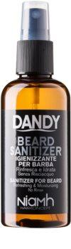 DANDY Beard Sanitizer spray desinfectante sin aclarado para proteger la barba