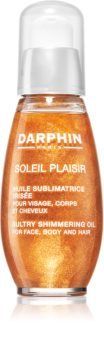 Darphin Soleil Plaisir Multi-Function Dry Oil with Shimmer for Face, Body and Hair