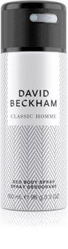 David Beckham Homme deodorant spray para homens